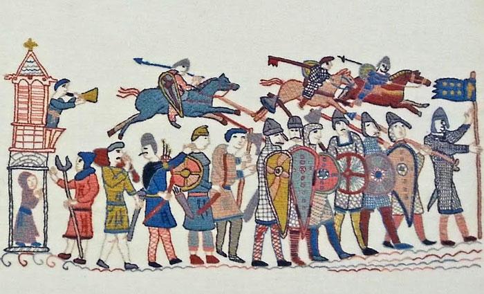 Войска Гарольда.